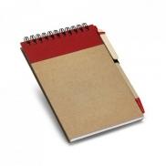 RINGORD. Notes kieszonkowy - Czerwony