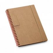 GARDEN. Notes B6 - Czerwony