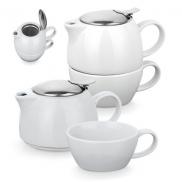 COLE. Zestaw do herbaty - Biały