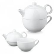 INFUSIONS. Zestaw do herbaty - Biały