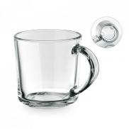 SOFFY. Szklany kubek 280 ml - Transparentny
