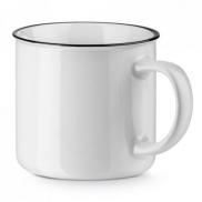 VERNON WHITE. Kubek ceramiczny 360 ml - Biały