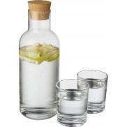 Karafka Lane z zestawem szklanek, przeźroczysty bezbarwny