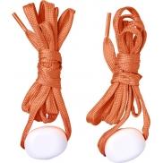 LightsUp! Sznurowadła LED, pomarańczowy