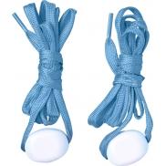 LightsUp! Sznurowadła LED, jasny niebieski