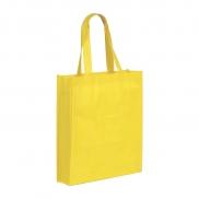 Torba na zakupy Non Woven długie uszy, żółty