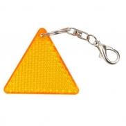 Brelok odblaskowy Seguro, pomarańczowy/żółty
