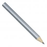 Krótki ołówek, srebrny