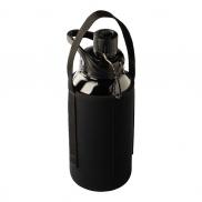 Szklana butelka Elan 1000 ml, czarny