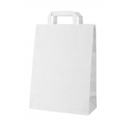 Papierowa torba - biały