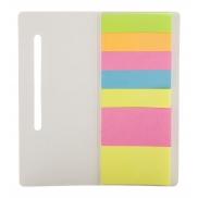 Notatnik z karteczkami samoprzylepnymi - biały