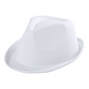 Kapelusz - white