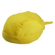 Chusta na głowę - żółty