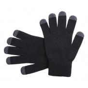 Rękawiczi do ekranów dotykowych - czarny