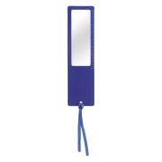 Linijka ze szkłem powiększającym - niebieski