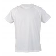 T-shirt sportowy - biały - L