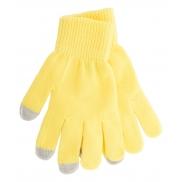 Rękawiczki do ekranów dotykowych - żółty