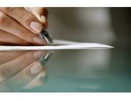 Pióro jako luksusowy artykuł piśmienniczy dla firmy